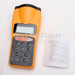Wholesale laser measurer - Pointer + Distance Measurer 60FT LCD Ultrasonic Laser Best Selling T0010