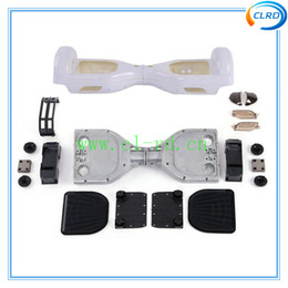 Wholesale Body Kits Parts - ABS plastic kit Outer Shell for 6.5inch Self Balancing Electric Scooter self balancing scooter parts 2 wheels mini scooter body cover shell
