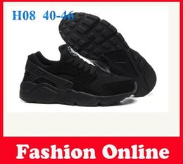 Wholesale Promotion Ski - Promotion Sport Shoes 2015 Black Air Huarache Running Shoes Popular Huaraches Sneaker Athletic Men Run Schuhe Shoes