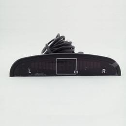 Wholesale Backup Sensors Buzzer - LED Display 4 Ultrasonic Car Dvr Reverse Backup Radar System Indicator Buzzer Reverse Parking Sensor