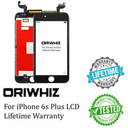 Wholesale Wholesale Cell Phones Lcd Screens - New Arrival LCD Digitizer Touch Screen Display Monitors for 6splus 6s Plus Cell Phone Replacement AAA Grade Black White Support Mix Order