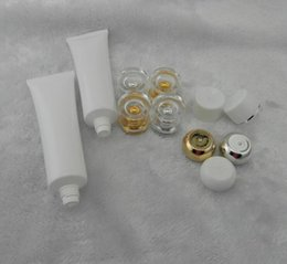 Wholesale Frosted Plastic Tube - 50g Tube Cosmetic Cream Plastic Lotion Soft Tubes Bottles Frosted Sample Container Empty Cosmetic Makeup Cream Container