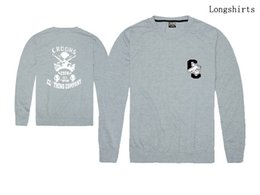 Wholesale Thin Mens Hoodies - 2015 Unisex Crooks And Castles Sweatshirts Autumn Spring Cotton New Designer Crewneck Sprotswear Mens Hoodies Hip Hop Clothing