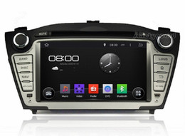 """Wholesale Gps For Hyundai - Quad-Core 1024*600 Android 4.4 HD 2 din 7"""" Car Radio Car DVD GPS for Hyundai ix35 Tucson With 3G WIFI Bluetooth IPOD TV USB AUX IN"""