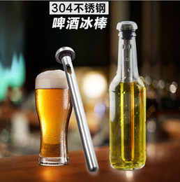 Wholesale Metal Bar Cooler - Beer Chiller Sticks Stainless Steel Beer Chill Cooling stick Drink Cooler Stick 2pcs set with retail package