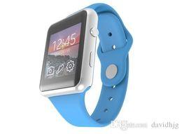 Wholesale Galaxy S3 Watch - New Bluetooth Smart Watch WristWatch GW08 8U Watch for apple Samsung Galaxy S3 S4 S5 Note 2 Note 3 HTC LG Motorola Android Phone