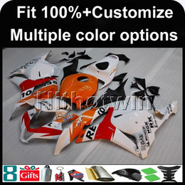 Wholesale Honda Repsol Cover - 23colors+8Gifts Injection mold REPSOL motorcycle cover for HONDA CBR600RR 2009-2012 CBR600RR 09 10 11 12 ABS Plastic Fairing