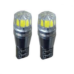Wholesale Cree Brake Light - 10PCS T10 501 CANBUS Cree Bulbs LED Xenon White T10 5W Error Free Car Sidelights styling wholesale