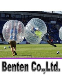 Wholesale Zorb Soccer Balls - Inflatable bumper ball to play soccer body Zorb Inflatable bumper ball hit both sports and entertainment pool toys 1.2 m 1.5 m LLFA3825F