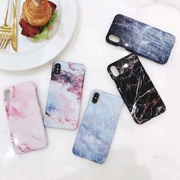 Wholesale Iphone Original Packaging - Original Smooth Marble Lines Phone Case For iPhoneX   8   7plus   6s Hard Case with Retail Package Free Shipping