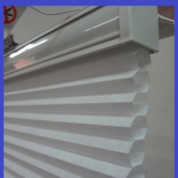 Wholesale Electronic Blinds - Motorized electronic Cellular Blinds wide colors 1pcs lot custom made size shipping