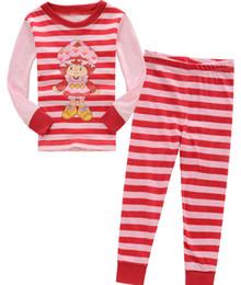 Wholesale Babies Pajama - New Pyjamas boy girl kids long sleeve pajama set baby pajamas sleepwear pyjamas kids autimn winter pajamas