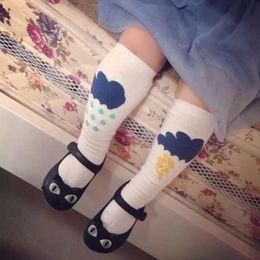 Wholesale Leggings Clouds - baby socks knee high socks for boys girls meias infantil lightning clouds leg warmers kids knee pads for children baby leggings tights 2015