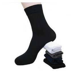 Canada Gros-Chaussettes Nouvelle 2015 Vente Chaude 10 Paires / Lot Longue Ultra-mince Mâle Respirant Chaussettes pour l'été Mâle Gym Cool Bambou fibre chaussettes Offre