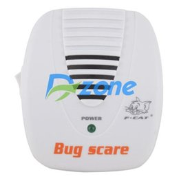 Wholesale Electronic Pest Control Machine - Wholesale-New Electronic Ultrasonic Mouse Mosquito Rat Pest Control Repeller Bug Scare Machine #12723
