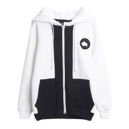 Wholesale Blood Cosplay - NEW Free Shipping STRIKE THE BLOOD Cosplay Akatsuki Kojo Costume Thick Hoodie Sportswear for party and halloween