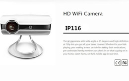 Wholesale Ip Camera Android Audio Hd - CCTV Camera CHUANGO IP116 HD 720P H.264 WiFi Camera IR Night Vision Network IP Camera P2P 2-Way Audio for iPhone iOS Android Mobile Monitor