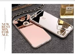 2019 apple i6s telefone Glitter galvanoplastia espelho bling macio tpu pc phone case de ouro para iphone 6s 6 plus i6 i6s 5 5s samsung galaxy s7 s6 borda plus luxo apple i6s telefone barato