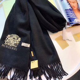 Wholesale Men Cashmere Scarfs - 2017 New winter brand men and women style cashmere scarves, high-end scarves, soft cloth, luxurious scarves