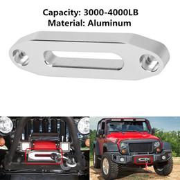 polonês de alumínio por atacado Desconto Atacado- 1 conjunto 5600.3096 MAGNA Polido Alumínio ATV Universal / UTV Hawse Fairlead para Corda Sintética com parafusos