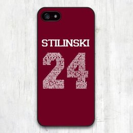 Wholesale Teen Wolf Iphone Case - Wholesale-Teen Wolf STILINSKI 24 Words Plastic Hard Cover Case for iphone 4 4s 5 5s 5c 6 6plus
