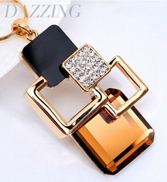 Wholesale Faces Sweaters - 2017 New European Fashion Vintage Sweater Chain Gold Plated Long Chain Necklace Pendants Brand Jewelry Women Bijouterie 11468