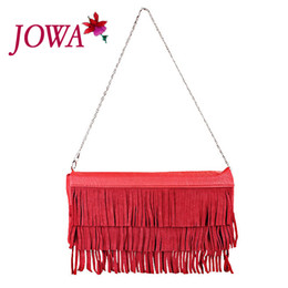 Wholesale Messenger Bag Minimalist - Wholesale-new Korean wave fashion handbags fringed bag retro bag hand bag Shoulder Messenger Bag minimalist