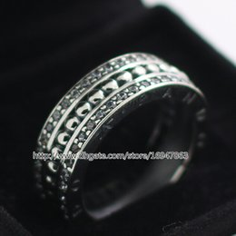 Wholesale Sterling Silver European Style Charm - Jewelry Ring New 100% S925 Sterling Silver European Pandora Style Jewelry Forever Ring Fashion Charm Ring