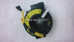 Wholesale Oem Steering Wheel - Toyota Avensis AZT250 Clock Spring Airbag Spiral Cable Sub-Assy OEM 84306-05050 M48724 Steering Covers Cheap Steering Covers