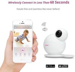 Wholesale Temp Humidity - Free shipping 1x HD High-Definition Wi-Fi Wireless Digital Video Baby Monitor Ibaby M6T Temp & Humidity Sensor