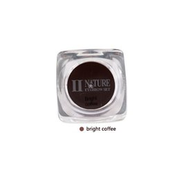 Wholesale Permanent Make Up Pigments - Wholesale- 15ml Bright coffee Square Bottles PCD Tattoo Ink Pigment Professional Permanent Makeup Ink Supplyt For Eyebrow Lip Make up