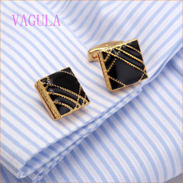 Wholesale Mens Shirts For Cufflinks - Cuff Link Luxury Brands Groomsmen Gifts Coat Stud For Mens Fashion Cufflinks Designer Business Simple Men Sleeve Shirt High-grade