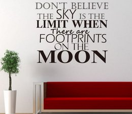 Wholesale Kids Room Wall Art Quotes - living philosophy keep confident quote wall stickers home decorations living decoration sticker 3d vinly wall decals