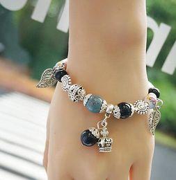 Wholesale Steel Pandora Charms - Factory Wholesale 925 Sterling Silver Bracelets 3mm Snake Chain Fit Pandora Charm Bead Bangle Bracelet Jewelry Gift For Men Women