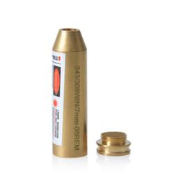 Wholesale Cartridge Red Laser Bore - Black-Bore-Sighter-243-308Win-7mm-08Rem-Cartridge-Red-Laser-Sight-hunting Free shipping