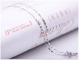 Wholesale Necklace Female - 925 sterling silver necklace female short paragraph Starry chain wholesale valentine star with money to send his girlfriend