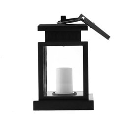 Wholesale Hanging Led Pool Light - Classic Outdoor Solar LED Candle Light Yard Garden Decoration Lantern Hang Lamp 2015 brand new