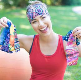 Argentina 2016 Nueva Llegada Dama Deporte Buena Qualtiy Diademas Strecth Headwear Lavado Cara Yoga Correr Headwear 16 Muti-Colores Accesorios Para el Cabello I6732 Suministro