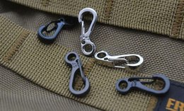 Wholesale Hook Buckle Price - Best price SF mini aluminum quick hanging buckle carabiner keychain,outdoors buckle hanging hooks, 500pcs 1119#19