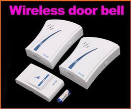 9510FD3 Wireless Digital Türklingel 150 Meter 32 Musik Fernbedienung Türklingel Türklingel 2 Empfänger 1 Sender Türklingel von Fabrikanten