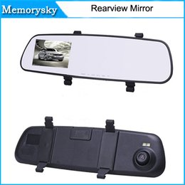 Wholesale View Sales - 2.7 Inch Nice Rear-view Mirror Car Dvr Direct Selling Super Night Vision Recorder HD Wide-Angle On-Board Monitoring hot sale 10228