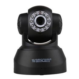 Wholesale Wanscam Wifi Camera - High Quality Network IP Webcam Wanscam 720P HD H.264 1MP IP Camera PnP P2P AP Pan Tilt IR Cut WiFi Wireless ONVIF