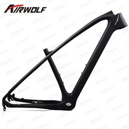 """Wholesale Matte Mtb Stem - 27.5ER  29ER stem adjustment 15"""" 17"""" 19"""" can available carbon mtb frame,142*12mm thru axle and 135*9mm exchange mtb bike carbon frame"""