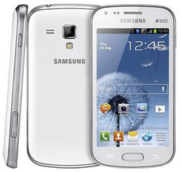 "Wholesale Mobile Phone S - Original Samsung Galaxy S Duos S7562 Mobile Phones Android 4.0"" GPS WIFI 5MP Camera Dual Sim Refurbished Phone"