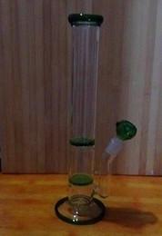 Vasi di telefono online-2015 Custodie per telefoni soffiati a mano 7mm di spessore Vaso di vetro Bong Perc Percolatore per l'acqua Fumatori 2 X Disco a nido d'ape 18,8mm Unisciti al verde, blu, chiaro