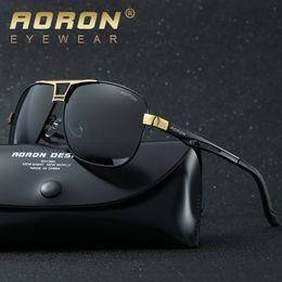 Wholesale Square Frame Wayfarer - Aviator Polarized Lens Sunglasses for Men Designer Brand Sun Glasses for Women Pilot Luxury Sunglass Mirrored European Wayfarer Sun Glass