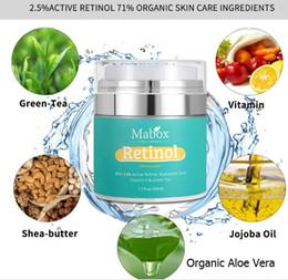 Wholesale Exfoliate Cream - 1.7fl oz Protein soft moisturizer essence cream skin shrink pore control oil brighten skin tone exfoliate