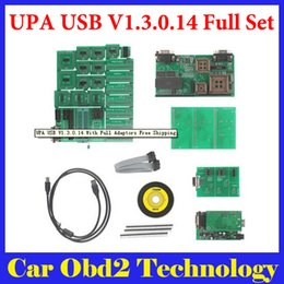 Wholesale Toyota Upa - 2016 UPA USB V1.3.0.14 Programmer With Full Adaptors by DHL Free Shipping