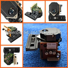 Wholesale Dvd Optical Pick Up - Free Shipping Hot Sale Black New KSS-240A Replacement Laser Lens KSS240A Optical Pick up For Sony CD DVD