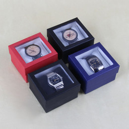 Wholesale 24 Watch Display Case - Wholesale 24 Paper Watch Display Show Box Case Jewellery Box